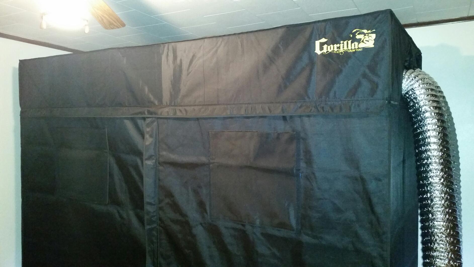 4x8 gorilla grow tent