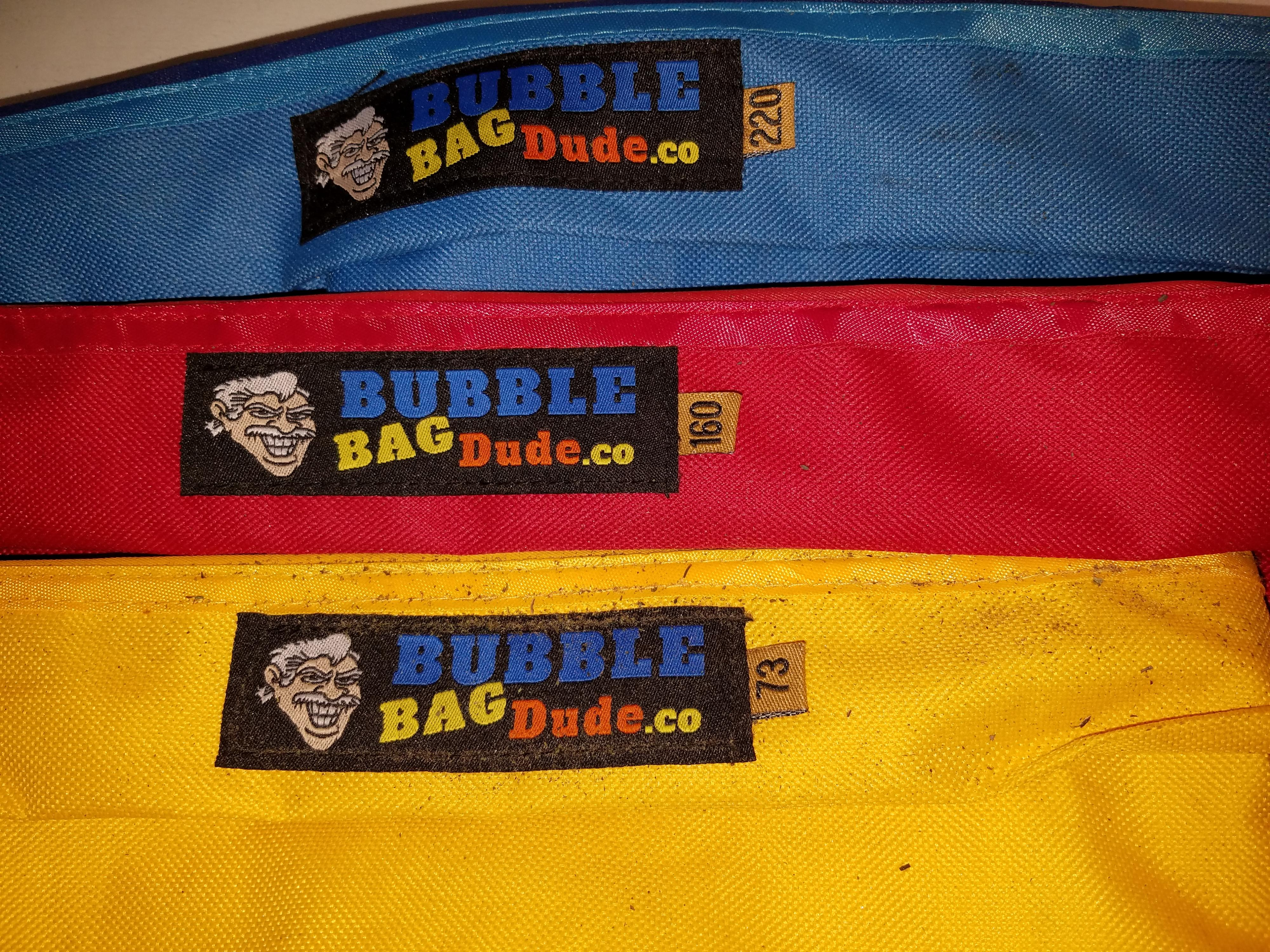 Bought a set of 5 Bubbleman Dude bags, but only used 3